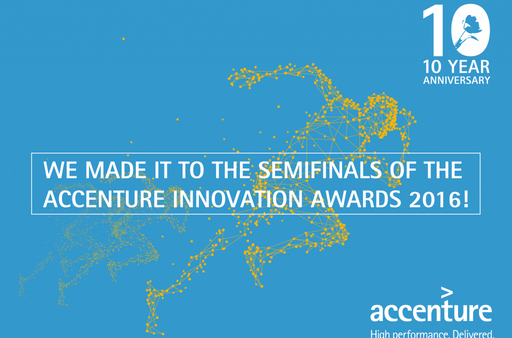 Halve finale Accenture Innovation Award