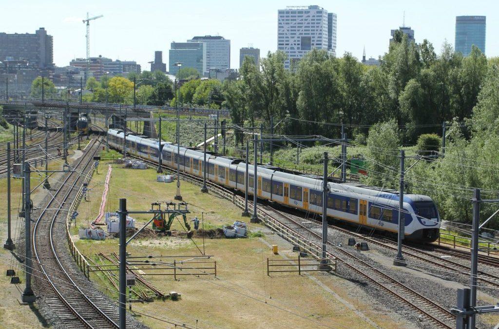 '80 procent remenergie NS-treinen gaat nog verloren'