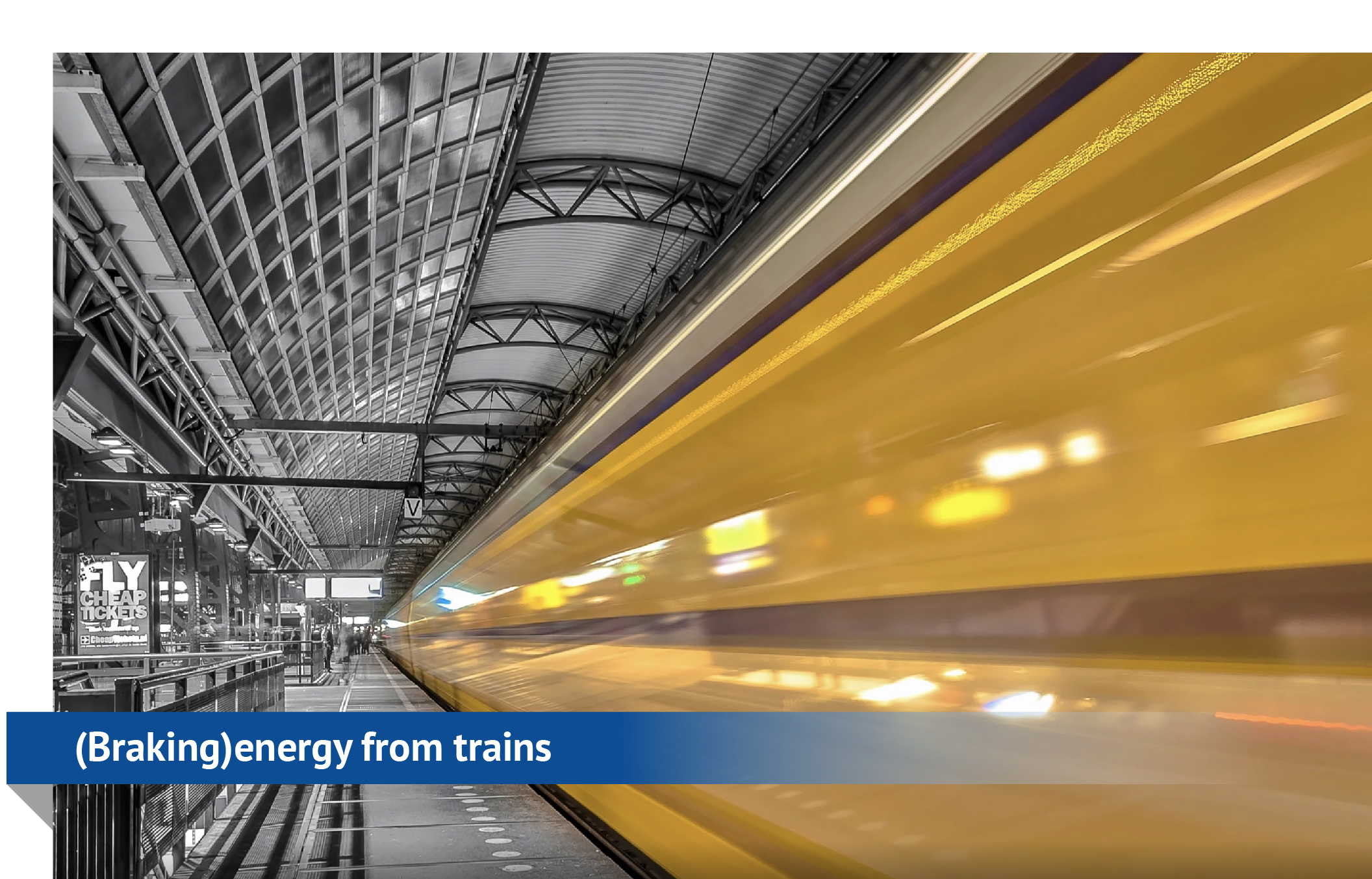 Braking energy from trains, metro's and trams - Hedgehog Applications