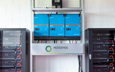 Hedgehog Applications installeert eerste OCPP 2.0 Energy Storage System (ESS)