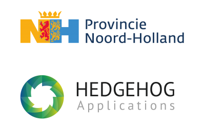 Provincie Noord-Holland steunt innovatieve projecten Hedgehog Applications in 2020-2022